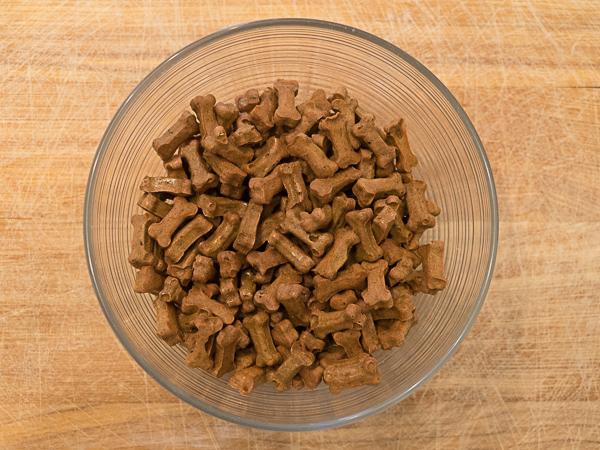 Hundeleckerli aus der Backmatte