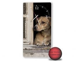 Hundeuhr mit Fotoaufruck