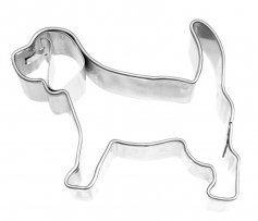 Ausstechform Beagle