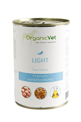 ORGANICVET Hund Nassfutter Veterinary Light, 6er Pack (6 x 400 g)