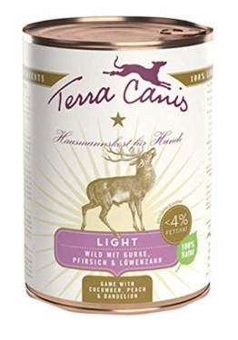 Terra Canis Menue Light Wild, 400g Dose (6 Pack)