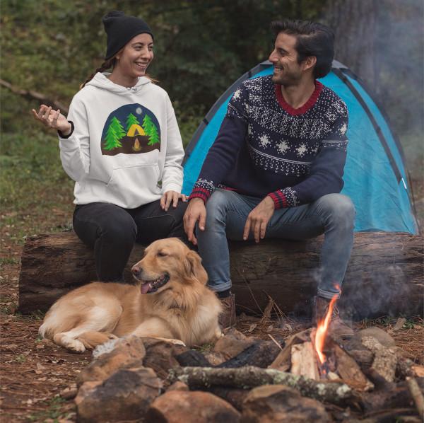 Reisen mit Hund Camping