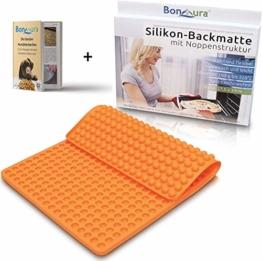 BonAura Backmatte Backform für Mini Halbkugel Hundeleckerli