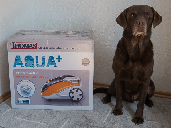 Staubsauger Tierhaare Test THOMAS AQUA<sup>+</sup> Pet&Family