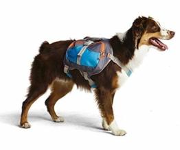 Rucksack Packtaschen Hund