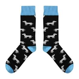 Lustige Socken mit Dackel