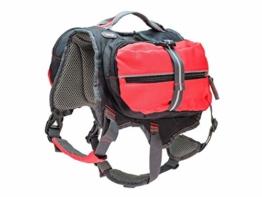 iEnergy MAL Hunderucksack - Wetterfester Rucksack für Hunde