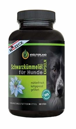 Schwarzkümmelöl Kapseln für Hunde