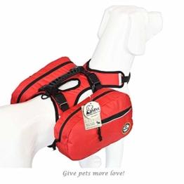 OSPet Hunderucksack Schultertasche Satteltasche für Hunde