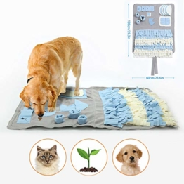 Schnüffelteppich für Hunde Schnüffelrasen