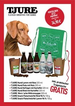 Tjure-Vorteilsbox Hund - Der leckere Fleisch-Smoothie