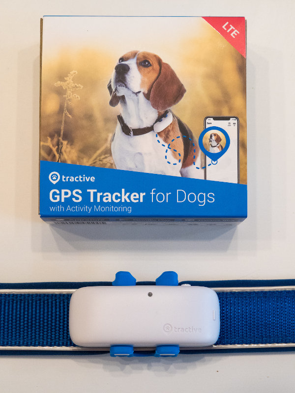 Tractive GPS Tracker Hund