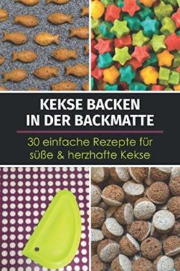 Kekse backen in der Backmatte für Zweibeiner (Herrchen und Frauchen)