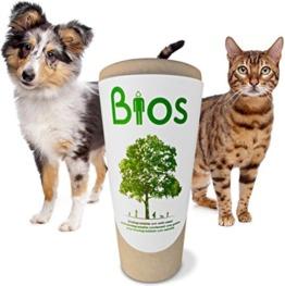 Urne Hund biologisch abbaubar Baum