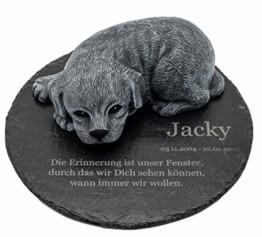 Grabstein Hund