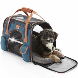 Hundetasche für kleine Hunde bis 10kg